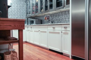 White Shaker Refaced Kitchen