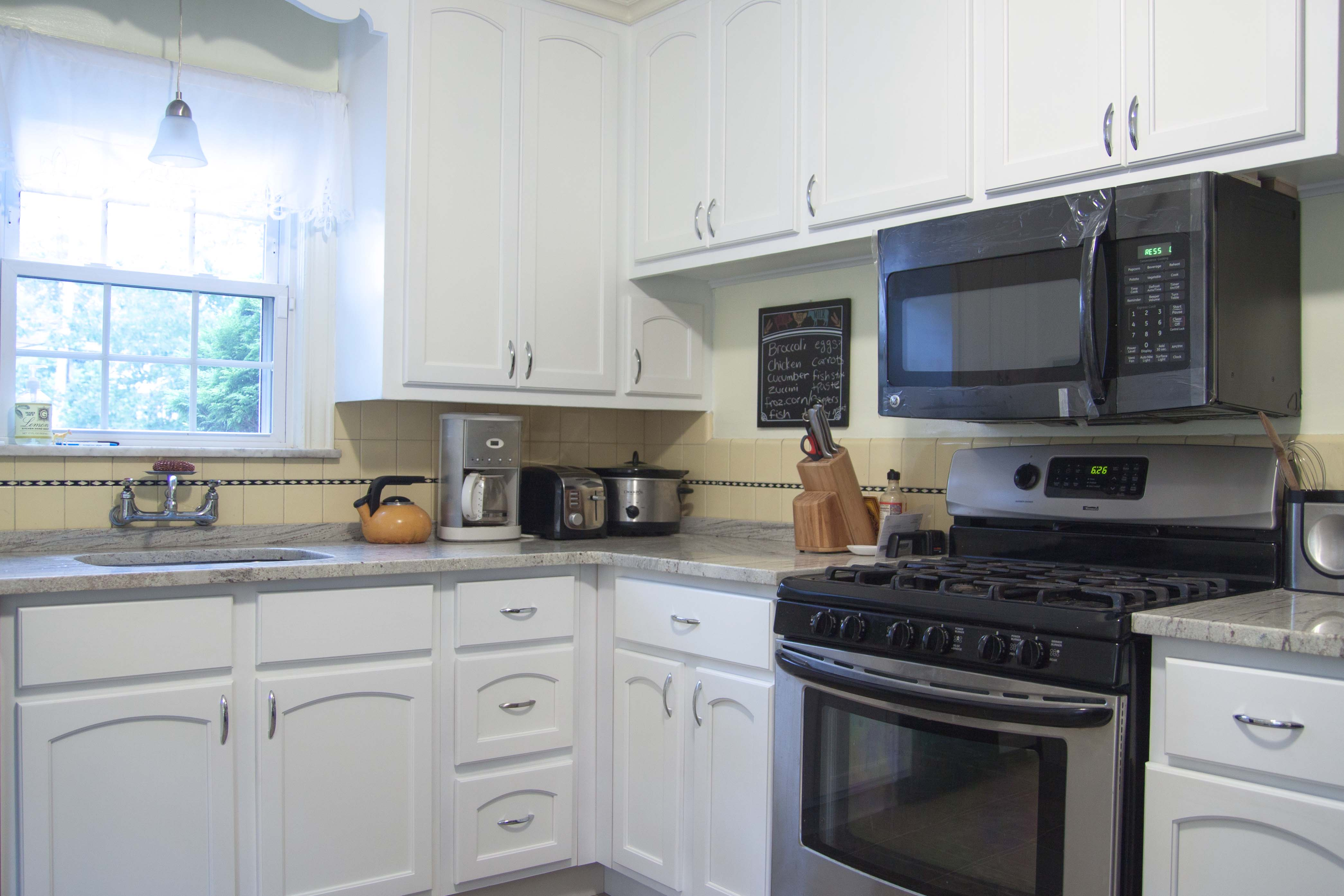 Maplewood NJ country style Kitchen Cabinet Reface - NY ...